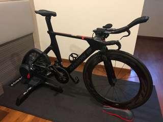 Argon E118 TT bike with Sram Etap