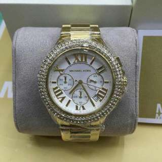 AUTHENTIC MK WATCH WITH STONE