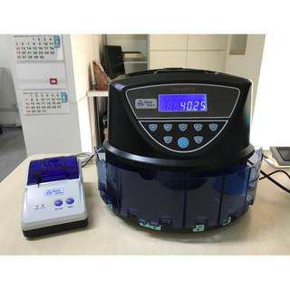 SG Coin Counter / Sorter with Printer