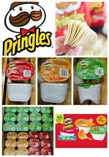 美國進口Pringles什錦味薯片(48小盒/箱)