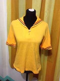 Yellow Polo Shirt Medium frame