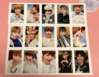 Wanna One Kang Daniel polaroid style selfie photocard 5pc