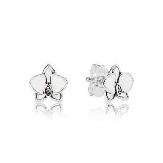 WTB OR SWAP FOR PANDORA ORCHID EARRINGS