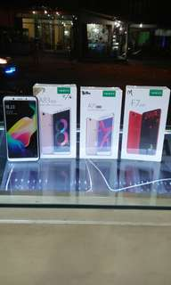 Cash back!!  Oppo. F7 = 4/64 Rp= 4.199000.       A83=2/16 Rp:2.299.000.   A83=3/32 Rp:2.799.000.   A71=2/16 Rp:1.899.000.