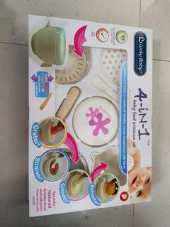 4-IN 1 Baby Food Processor Set