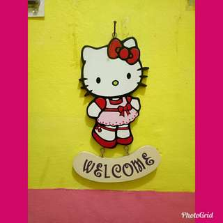 Welcome hello kitty