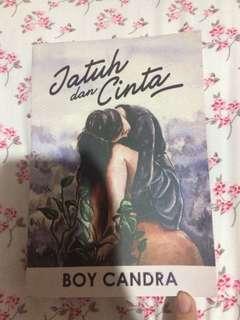 Novel Jatuh dan Cinta ; Boy Chandra
