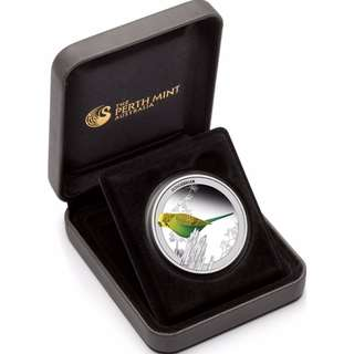 Limited 2013 BIRDS OF AUSTRALIA BUDGERIGAR 1/2oz SILVER PROOF COIN
