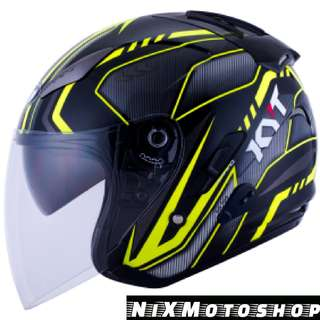 KYT Hellcat Arrow ( Single Visor )