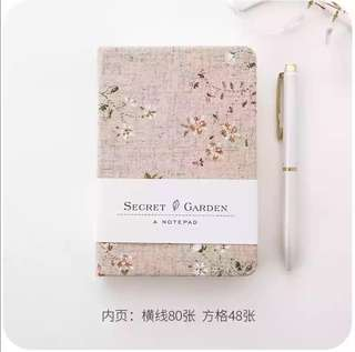 Cloth Cover Notebook A6