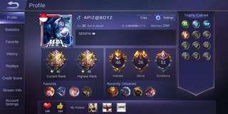 Mobile legends Hire Joki/Booster Rank