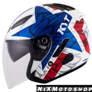 KYT Hellcat Star ( Single Visor )