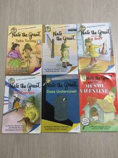 Nate the Great set of 26 books