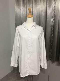 🚚 全新✨純白襯衫👔