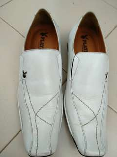 Formal white shoes Playboy
