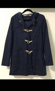 🚚 Asos Duffle Coat in Navy