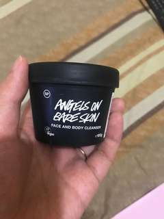 Lush cleanser face n body