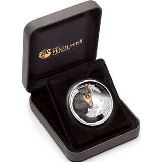 Limited 2013 Australian Bush Babies Possum Australia 1/2 oz Silver  Proof