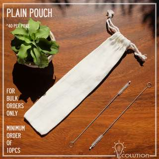 Pouch for Reusable Straw (BULK ORDERS)