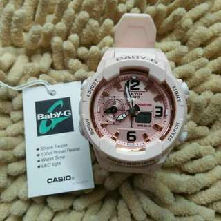 BABY G BGA230 LIGHT PINK