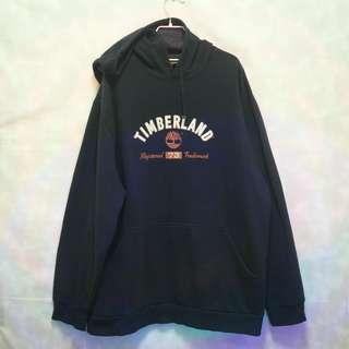 三件7折🎊 Timberland 帽T 大學T 老T 深藍 大logo 極稀有 祕魯製 老品 復古 古著 Vintage