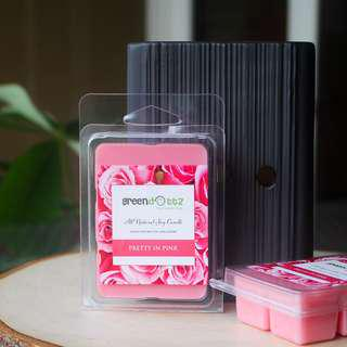 🚚 Bulgarian Rose Scented Soy Wax Melts Home Fragrance