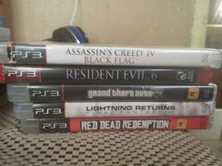 PS3 GAMES FREE POSTAGE