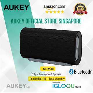🚚 [SK-M30] AUKEY Eclipse Bluetooth 4.2 Speaker