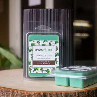 🚚 Peppermint Eucalyptus Scented Soy Wax Melts Home Fragrance