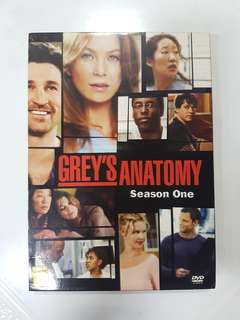 DVD - Grey's Anatomy