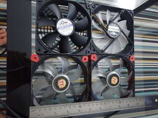 4 x 120mm case fans cheap 20 for all