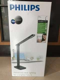 Brand New: Philips Desk Light / Crane 71665 (black)