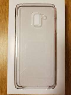 Samsung A8+原裝透明膠殼