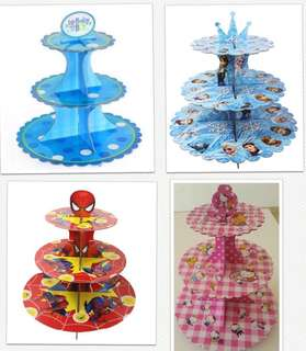 (8/4) Limited stock -Birthday cupcake paper stand