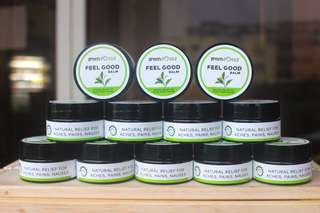 🚚 FEEL GOOD Peppermint & Ginger Aromatherapy Balm