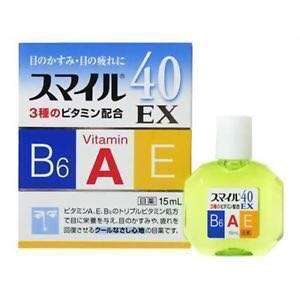 Lion Smile 40EX Japanese Eye Drop Japan