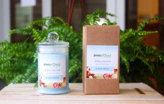 🚚 Seaside Breeze Scented Soy Candle 175ml