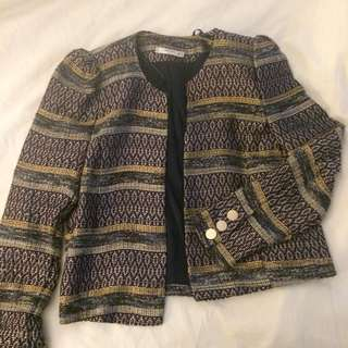 Knitted Blazer Suit