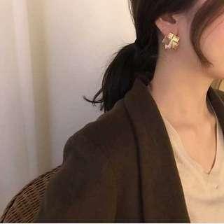 Geometry Metallic Earrings