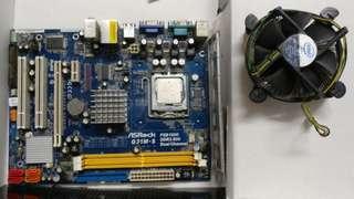 Intel cpu XEON L5420 / G-31 底板