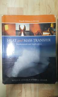 Heat and Mass Transfer 4th Edition