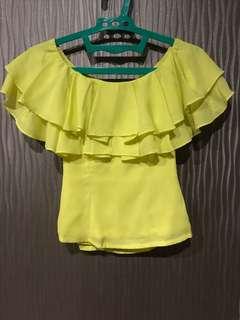 Love Bonito Yellow Sabrina size XS