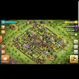 For sale Th 10 almost max with change name and 9.2k gems