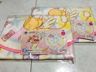 Cardcaptor Sakura Twinkle Star Collection Ichiban Kuji Prize C Blanket Mat