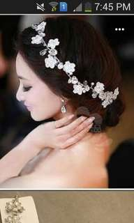 Bridal hair accesory