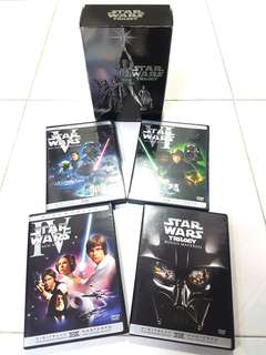 DVD - Star Wars Trilogy Box Set