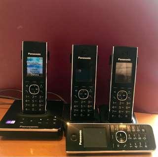 Panasonic Cordless home phones with answering machine