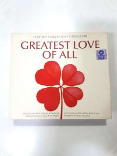 CD - Greatest Love Of All