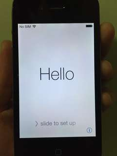 iPhone 4 16GB Black with cable