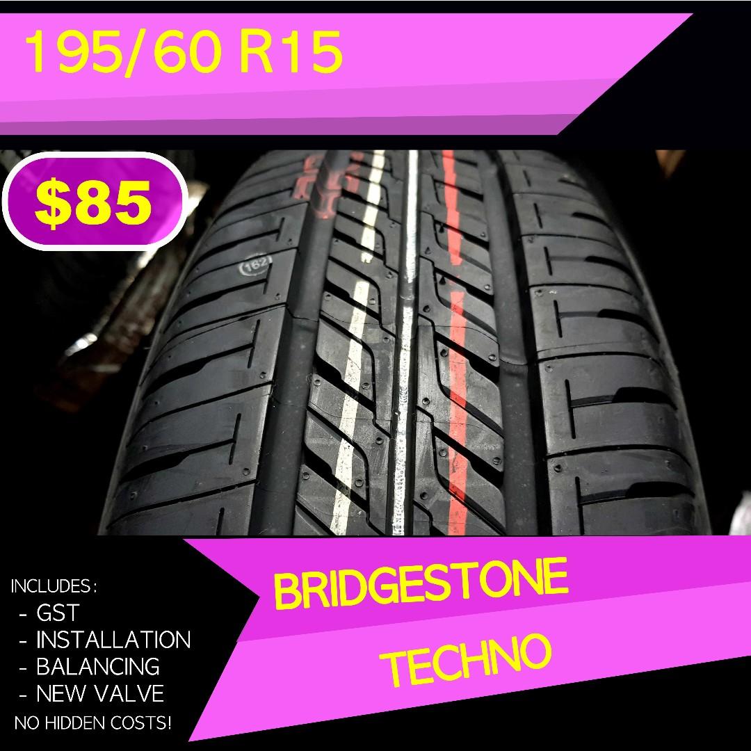 Bridgestone Techno 195 Lihat Daftar Harga Terbaru Dan Terlengkap Ban Mobil New Tecaz 185 60r15 Vocer B250 70 R14 Oem Avanza Xenia Source Photo